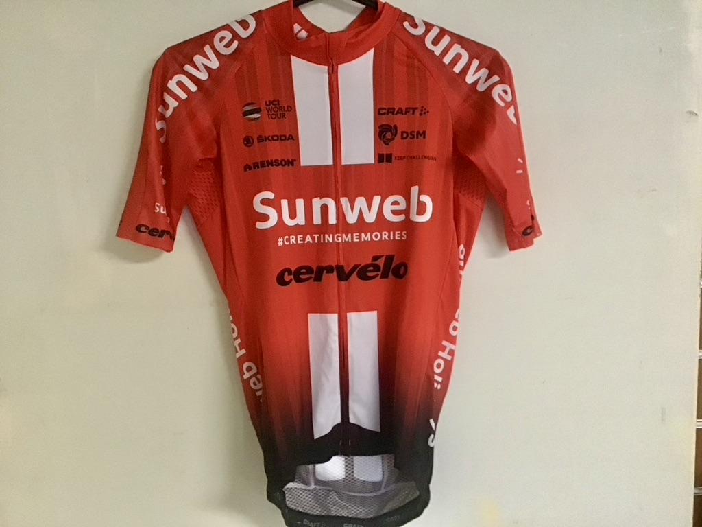 shirt rood Sunweb
